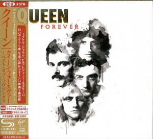 Queen Forever JAPAN 2xSHM CD 2014 (UICY-15347)