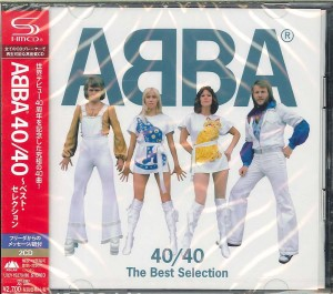 ABBA 40/40 The Best Selection 2x SHM-CD UICY-15279/80