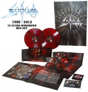 SODOM 30 Years Sodomized 1982-2012 * SEALED BOX 3CD+ COLOR 2LP limited