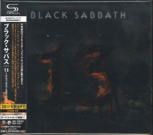BLACK SABBATH 13 DELUXE okładka 3D 2x SHM JAPAN CD  UICN-1034