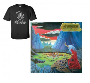 ASHBURY Endless Skies LTD=100 color LP with t-shirt