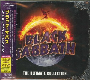 BLACK SABBATH The Ultimate Collection JAPAN 2xCD WPCR-17635