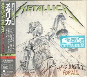 METALLICA . . . And Justice for All (REMASTERED DELUXE 3xSHM-CD UICR-9044)