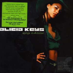 ALICIA KEYS Songs In A Minor (SONY SUPERIOR AUDIO QUALITY 180g)