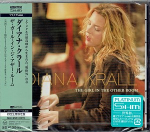 DIANA KRALL Girl In The Other Room JAPAN PLATINUM SHM (UCCU-40018)