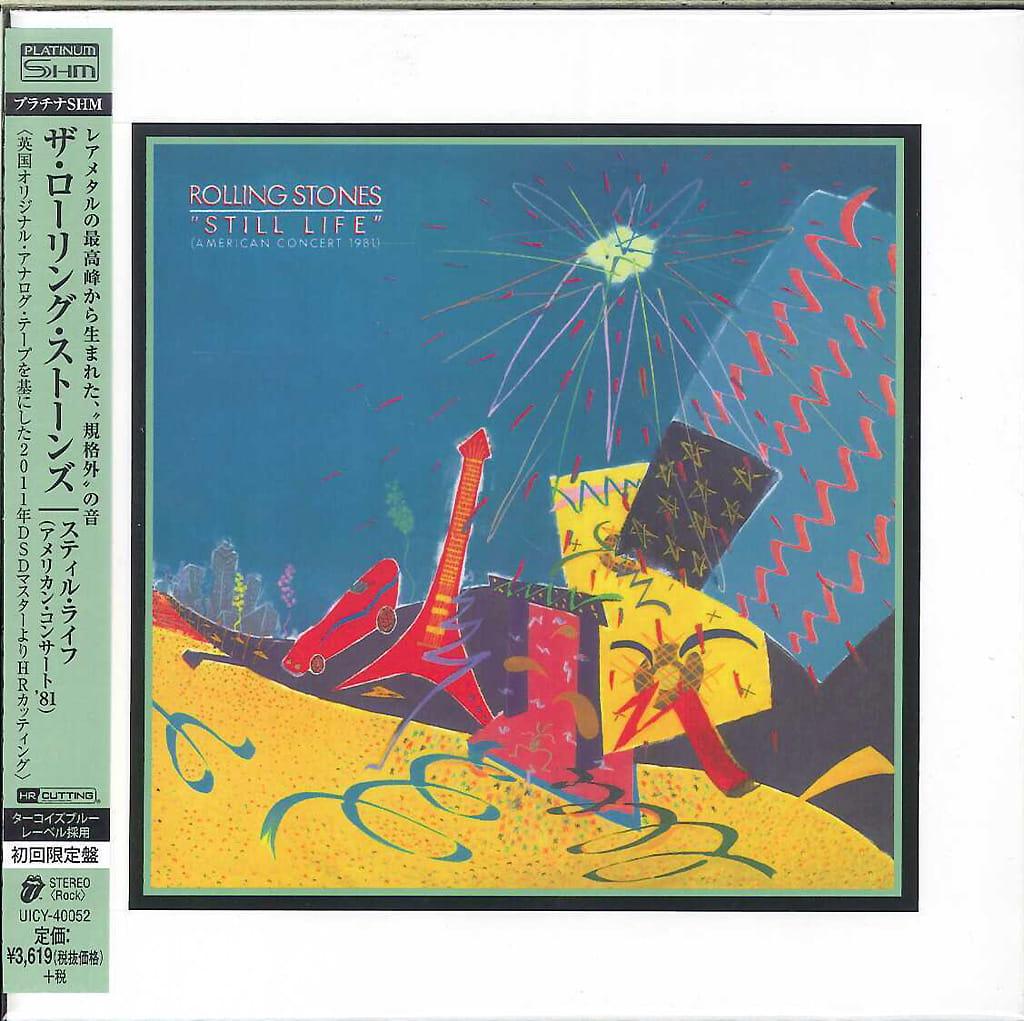 THE ROLLING STONES Still Life American Concert 1981 SHM CD HRcut Platinium OnVinylStore
