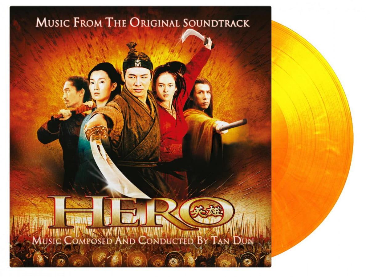 Hero 2002 Ying Xiong Colored Vinyl 2xlp 45rpm Ost Onvinylstore