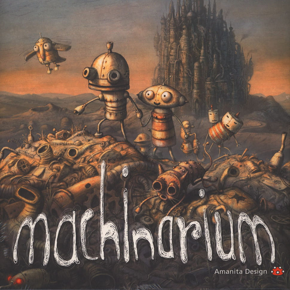 Andrea Porn Video Space Odyssey tomas dvorak machinarium (video game ost 180g vinyl