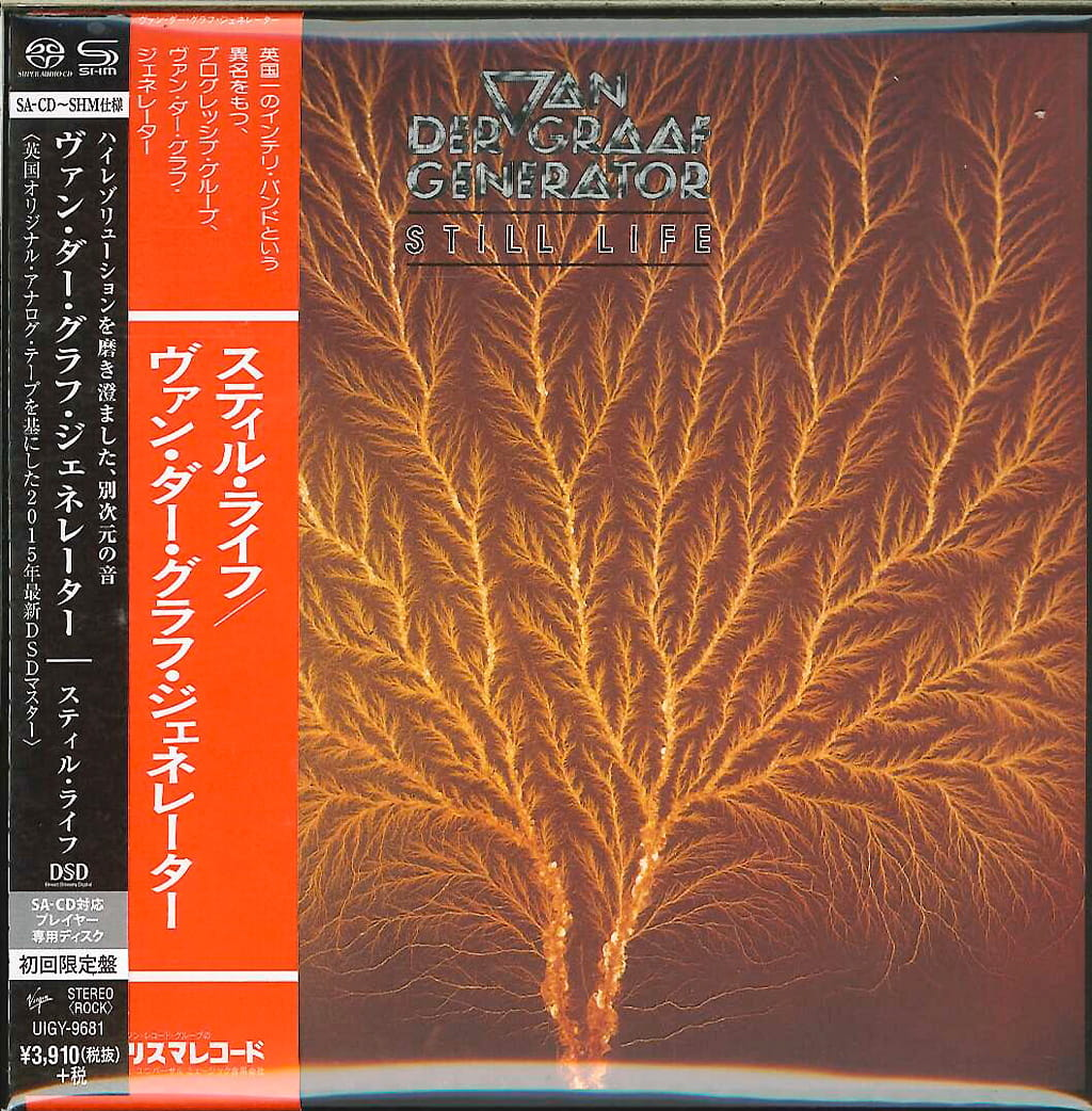 VAN DER GRAAF GENERATOR Still Life SHM-SACD JAPAN CARDBOARD UIGY-9681