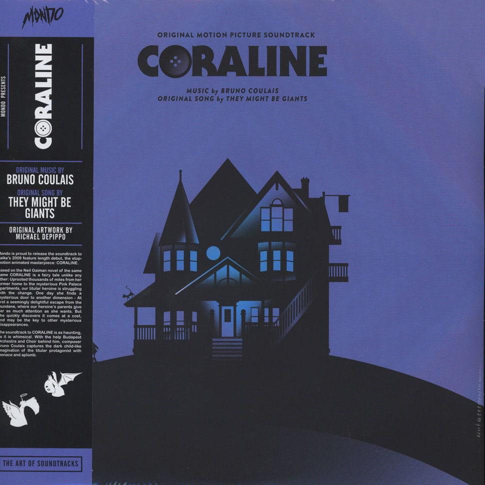 Bruno Coulais Coraline 2xlp 180g Mond 018 Onvinylstore
