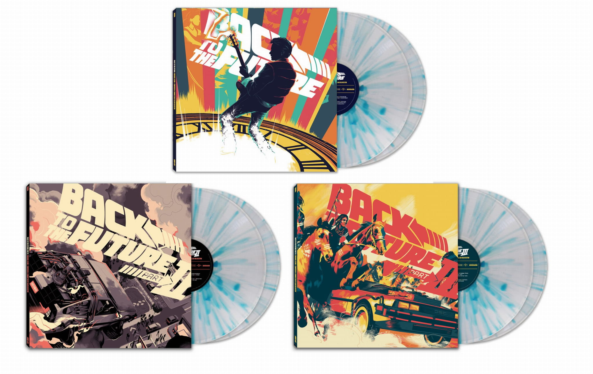 ALAN SILVESTRI OST Back To The Future BUNDLE POWRÓT DO PRZYSZŁOŚCI color  6xLP 180g
