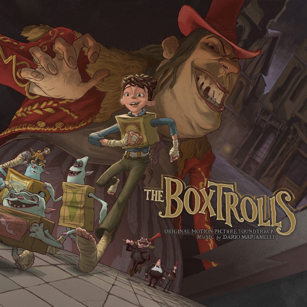 DARIO MARIANELLI The Boxtrolls 2xLP OST