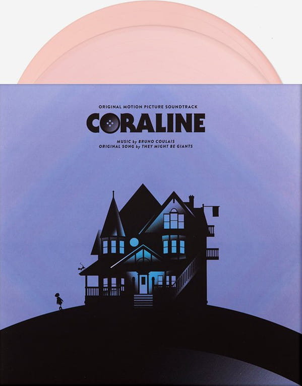 Bruno Coulais Coraline Ltd Pink Vinyl 2lp Mond 018 Onvinylstore