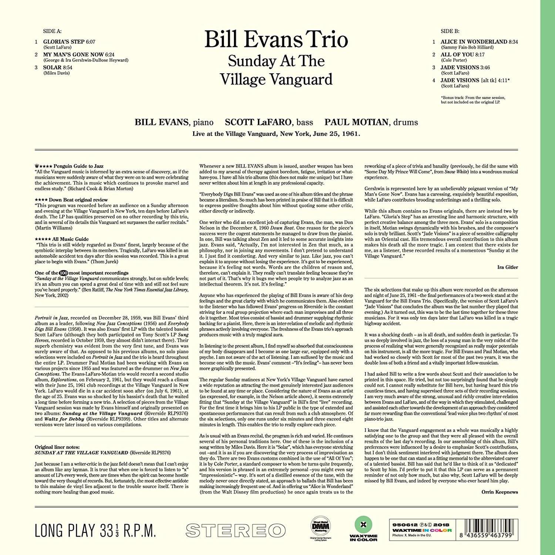 Bill evans gershwin