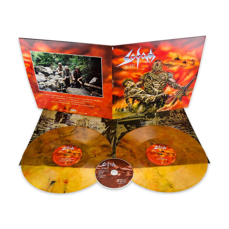 SODOM M-16 - 2xOrange/Gold LP +CD