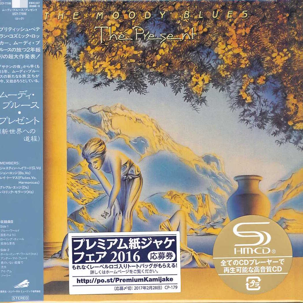THE MOODY BLUES The Present JAPAN SHM-CD UICY-77996