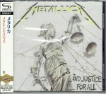 METALLICA And Justice For All SHM-CD JAPAN (UICY-20225)