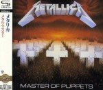 METALLICA Master Of Puppets SHM-CD JAPAN (UICY-20224)