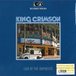 KING CRIMSON Live At Orpheum JAPAN LP 200g LTD