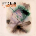 DAVID BOWIE 1 Outside (180g BLACK & WHITE SWIRL VINYL)