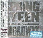 BRUCE SPRINGSTEEN on Broadway (JAPAN 2xCD)