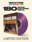 THELONIOUS MONK WITH JOHN COLTRANE (180g COLOR)