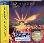 SUPERTRAMP Paris JAPAN Cardboard 2xSHM-CD  UICY-77878
