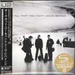 U2 All That You Can't Leave Behind -JAPAN SHM CD (UICI-9064)
