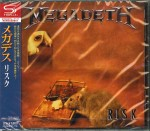 MEGADETH Risk SHM-CD