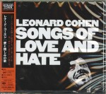 LEONARD COHEN Songs Of Love And Hate JAPAN CD SICP-5173
