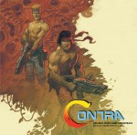CONTRA Music by Konami Kukeiha Club LP (MOND106) 45rpm