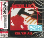 METALLICA Kill 'Em All (REMASTERED SHM-CD UICR-1137)
