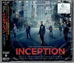 HANS ZIMMER Inception INCEPCJA - JAPAN CD (WPCR-13936)
