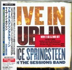 BRUCE SPRINGSTEEN Live In Dublin 2006 JAPAN 2xCD+DVD SICP-1474