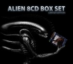 Alien Soundtracks Boxset by JAMES HORNER, JERRY GOLDSMITH, ELLIOT GOLDENTHAL, JOHN FRIZZELL - 8 x CD Complete