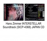Hans Zimmer INTERSTELLAR OST (SICP-4368) JAPAN CD