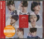 BTS BANGTAN BOYS For You (JAPAN EDITION CD+DVD KPOP)