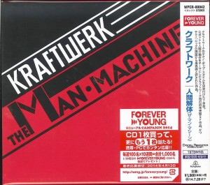 KRAFTWERK The Man Machine JAPAN CD REMASTERED (WPCR-80042)