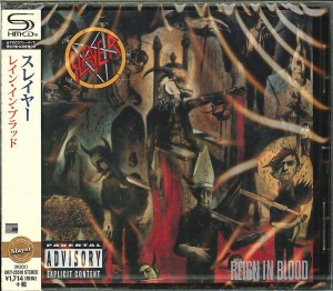 SLAYER Reign In Blood JAPAN SHM-CD (UICY-25510)