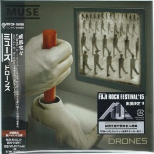MUSE Drones JAPAN CD WPCR-16486