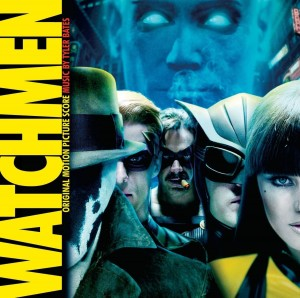 TYLER BATES Watchmen YELLOW OPAQUE VINYL