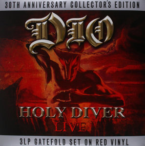 DIO Holy Diver Ltd Collector's Edit 3LP red wax