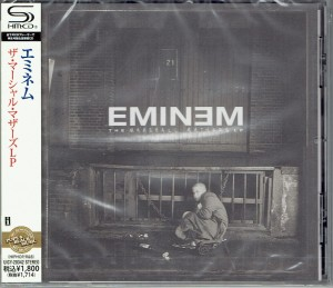 EMINEM The Marshall Mathers LP  SHM-CD JAPAN UICY-20342