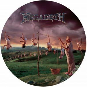 MEGADETH Youthanasia 180g LP-Picture Disc