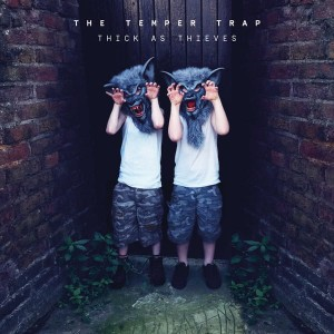 THE TEMPER TRAP Thick As Thieves WHITE VINYL