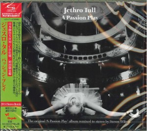 JETHRO TULL A Passion Play JAPAN SHM-CD 2015 WPCR-16474