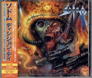 SODOM Decision Day JAPAN CD+DVD GQCS-90196