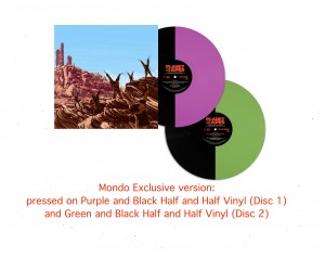 Planet Of The Apes OST BY JERRY GOLDSMITH  2x180 green/purple (MOND-038) 45rpm