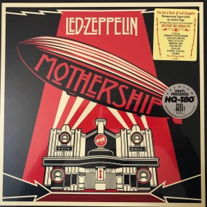 LED ZEPPELIN Mothership BOX 180g HQ-LP 2007 pressed at RTI