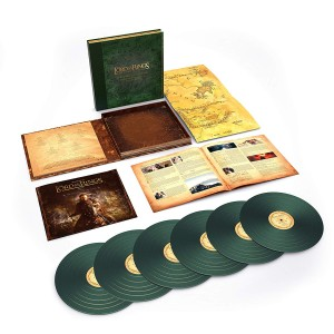 HOWARD SHORE The Lord of the Rings POWRÓT KRÓLA The Return of the King: The Complete Recordings  (GREEN 6xLP BOX)